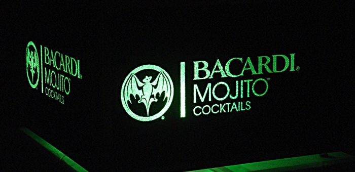 Bacardi Mojito promotional stage designs